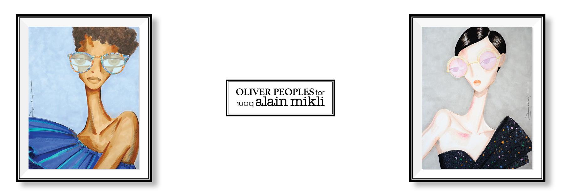 OLIVER PEOPLES X ALAIN MIKLI LES BELLES GUEULES OPTICIEN BORDEAUX