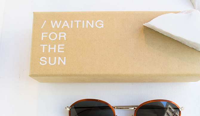 Waiting For The Sun X Sessùn collab Les Belles Gueules Bordeaux Opticiens